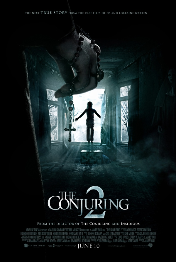 The Conjuring2,電影,詭屋驚凶實錄2,厲陰宅2,戲劇,詭異,凶宅,恐怖,James Wan,温子仁3