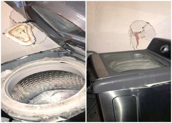 三星產品又出事 洗衣機不尋常震動如爆炸