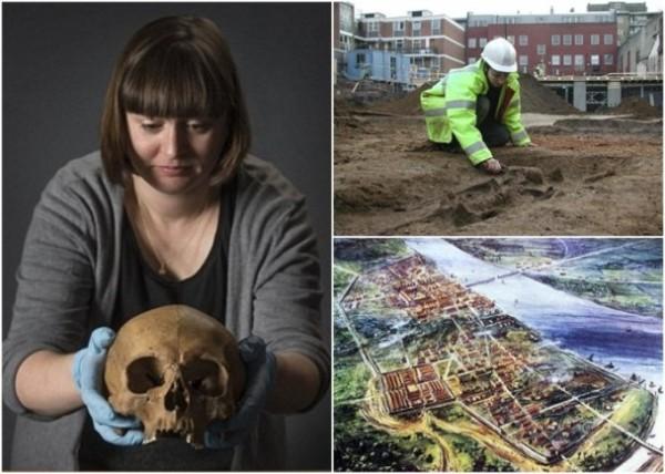 考古驚雷 疑似羅馬時代中國人骸骨埋倫敦
