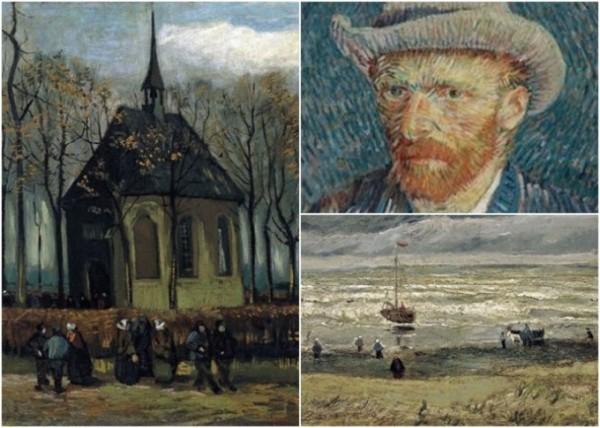 梵高兩名畫失竊14年 意警捉黑幫時意外搵返