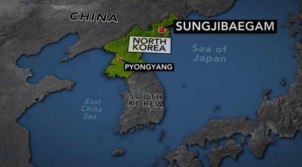 南韓,地震,朝鮮半島