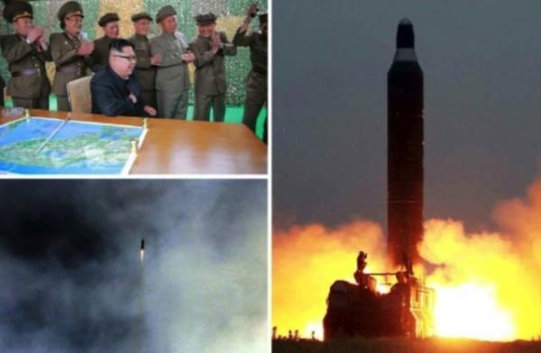 北韓昨再射導彈 爆炸失敗告終
