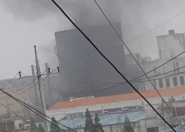 每日一片:韓化工廠爆炸5死傷 飛屍百米