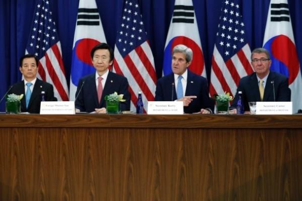 美防長警告北韓 倘用核武美將「雙倍奉還」