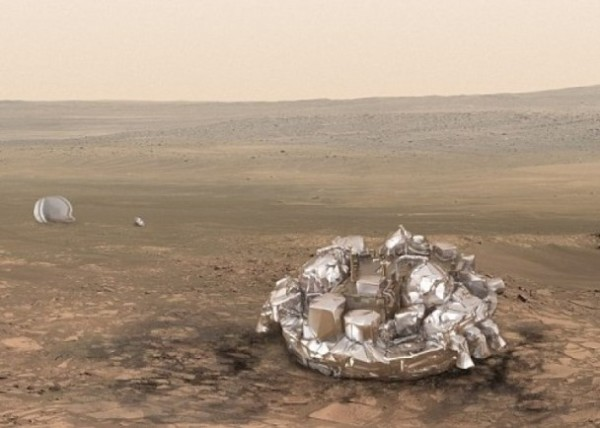 ESA火星登陸器失聯 陰謀論者指被NASA擊落