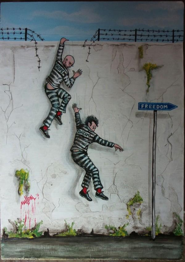 Italian Maupal的街頭藝術