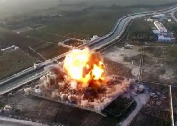 塔利班首次利用無人機 記錄襲擊過程